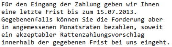 Rattenzahlung